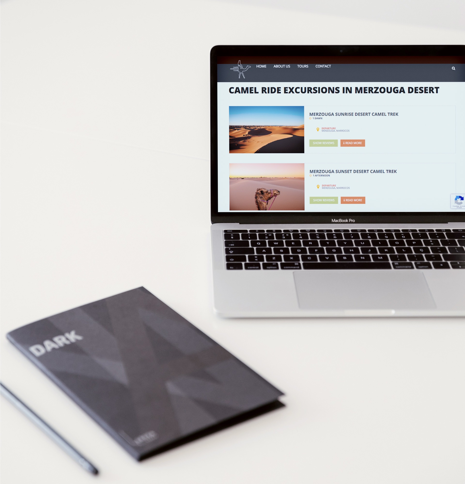 webdesign website magic morroco tours