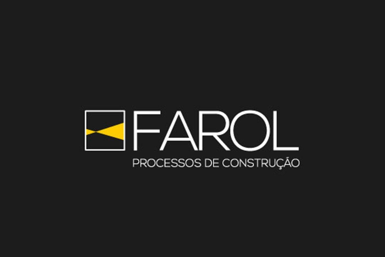 branding desenvolvimento de logotipo farol engenharia
