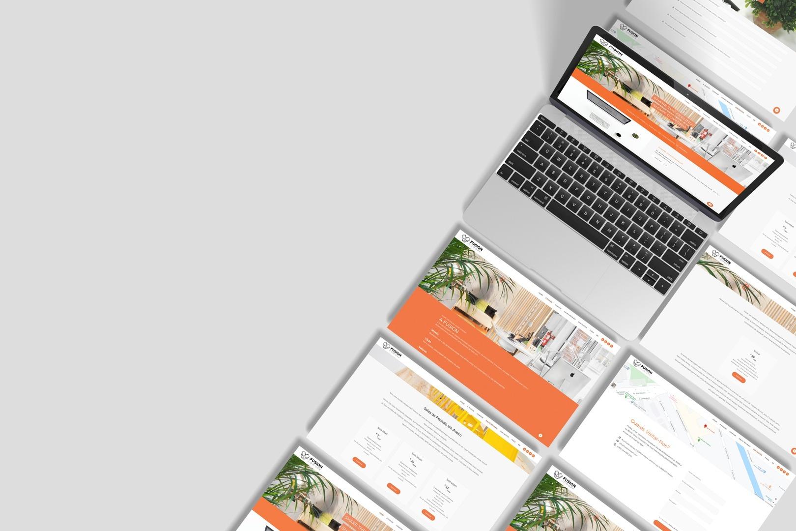 webdesign website fusion cowork