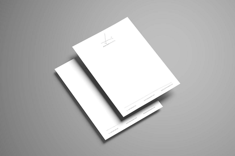 branding desenvolvimento de papel de carta miguel gaspar arquitectos
